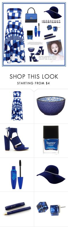 """""""Prompt Attention"""" by jakenpink ❤ liked on Polyvore featuring Être Cécile, Pfaltzgraff, Butter London, Maybelline and Mixit"""