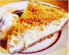 torta de crosta de paçoca com creme de coco e limão siciliano