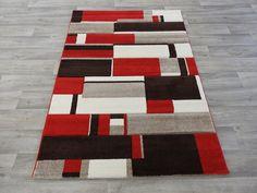 Bold Modern Turkish Rug Size: 120 x 170cm