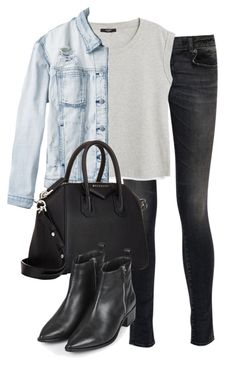 """Untitled #2217"" by waverlybrinley ❤ liked on Polyvore featuring R13, MANGO, RVCA, Givenchy and Topshop"