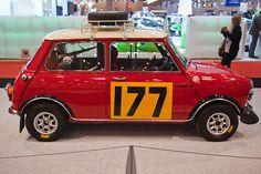 MINI Cooper S, Siegerwagen der Rallye Monte Carlo 1967, Fahrer: Rauno Aaltonen