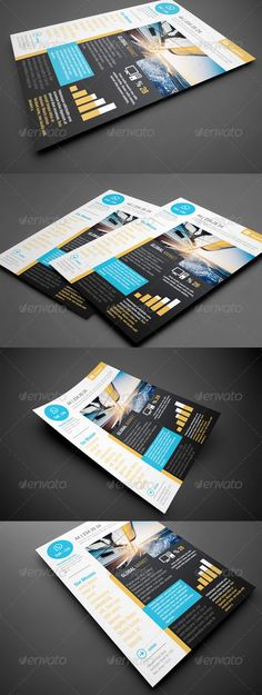 Clean Professional Corporate Flyer | Graphic Design | Pinterest