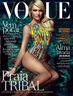 Candice Swanepoel for Vogue Brazil - January 2014