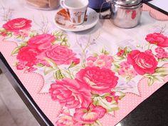 Arte Brasil | Caminho de mesa em patch apliquê - Márcia Caires