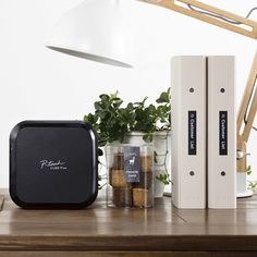 Bluetooth wireless technology allows you to easily design and print labels from your smartphone, tablet, laptop or desktop. The sleek, stylish design is lightweight and portable, meaning you can label virtually anywhere, anytime. Perfect for organization and decluttering. $99.99
