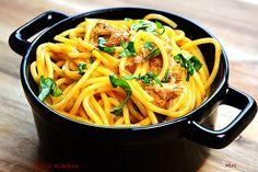 R'n'G Kitchen: Spaghetti z makrelą