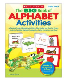 Loving this Big Book of Alphabet Activities Workbook on #zulily! #zulilyfinds