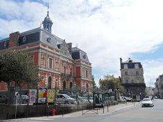 Rue Ville pépin, rue commerçante à saint Servan