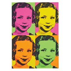 Try it yourself - colourful pop art poster