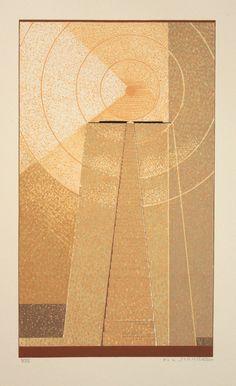 F-L Schmied - Illustration (1929) pour Le Livre de la vérité de parole, textes Egyptiens antiques traduits par J-C Mardrus