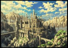 とまナイツ : 【背景画】幻想的な風景画を描くイラストレーター【壁紙】 - NAVER まとめ