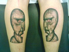 pink floyd The Division Bell tattoo