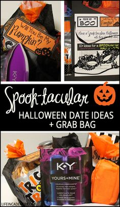 to my boo halloween gift basket the dating divas diva. Black Bedroom Furniture Sets. Home Design Ideas