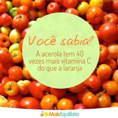 Vital para a produção de colágeno, a vitamina C é importantíssima para manter a sua pele e saúde em dia! http://maisequilibrio.com.br/beleza/pele-bonita-colageno-em-dia-6-1-5-398.html