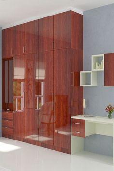 Wardrobe Door Designs, Wardrobe Design Bedroom, Bedroom Furniture Design, Tv Furniture, Closet Designs, Wardrobe Internal Design, Wadrobe Design, Bed Design, House Design