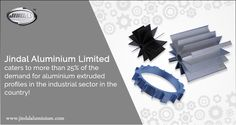 Jindal Aluminium Limited caters to more than 25% of the demand for #aluminium extruded profiles in the industrial sector in the country! With 10 #extrusion #presses we produce approx 90000 MT aluminium extrusion every year and cater to almost 25% of demand of extrusion in India. Our profiles are widely used in Automobile, Automation, Aviation, Construction, Defence, Electrical, Electronics, Home appliances, Railways, Solar and Textile industries. #JindalAluminiumLimited