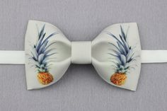 Pineapple Bowtie  Modern Boys Bowtie Toddler Bowtie by BackyardTie