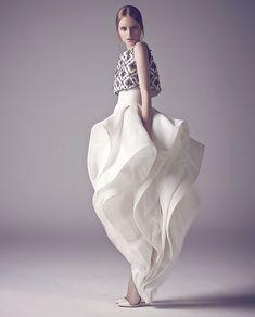 Как с картины | Brides | VOGUE
