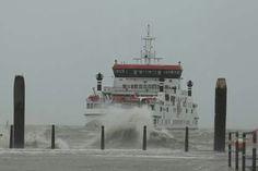 Nes aankomst veerboot