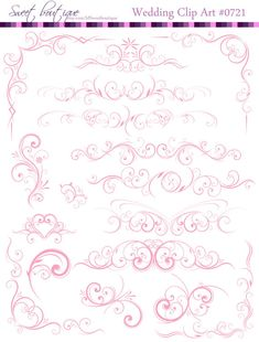 Digital frame, clip art/clipart & border can be used in a variety of digital and crafts works: invitations, scrapbooking, wedding invitation & wedding decorations, Invitation cards, Birthday cards, Thank You cards, Banners, tags, cupcake toppers and great as Scrapbook Supplies!