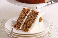 For this classic carrot cake recipe, it's important to use full-fat cream cheese for the icing; if you use a low-fat version, the icing will just run off the cake. Carrot cake is beautifully moist, so keeps well. If your kitchen is warm, store the cake in the fridge. Serves 8 Calories per serving: 765