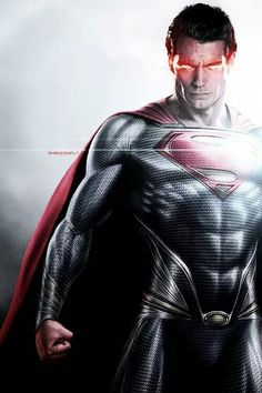 Henry Cavill as Superman, the Man of Steel