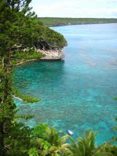 Jokin Bay on Lifou Island, New Caledonia