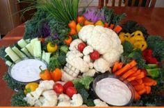 Skeleton veggies
