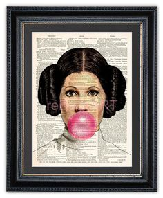 Princess Leia Blowing Darth Vader