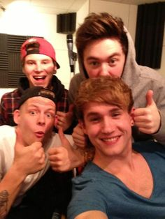 Rixton <3 this is such a cute picture
