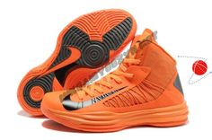 Buy Nike Lunar Hyperdunk 2013 Orange Blaze Black Womens Halloween Treats Price