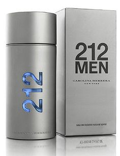 Carolina Herrera 212 Men   212 Men by Carolina Herrera is a Woody Floral Musk fragrance for men. 212 Men was created by Alberto Morillas, Rosendo Mateu and Ann Gottlieb. Top notes are spices, petitgrain, lavender, green notes, grapefruit and bergamot; middle notes are ginger, green pepper, gardenia, violet and sage; base notes are labdanum, sandalwood, musk, guaiac wood, vetiver and incense.
