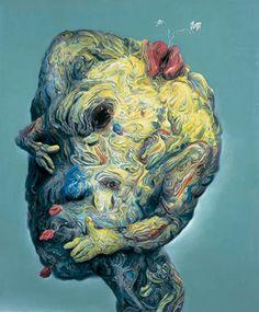 Glenn Brown - The Hinterland, 2006