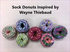 Instructions on how to make a cute donut sculpture from a sock. Art Lessons For Kids, Art Lessons Elementary, Art For Kids, Sculpture Lessons, Sculpture Projects, Wayne Thiebaud, Art Therapy Projects, Art Club Projects, Middle School Art Projects
