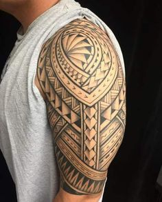 fbf9b4d26 Tattoo Sleeve Designs Awesome Negative Space 62 Trendy Ideas #tattoo Samoan  Tattoo, Maori Tattoos