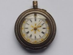 Pocket Watch Antique, Open Face, Pocket Watches, Antiques, Silver, Gold, Accessories, Ebay, Antiquities