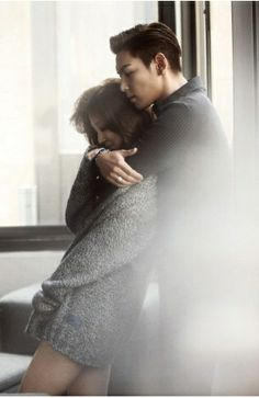 TOP & Yoon Eun Hye for W Korea ♡ #BIGBANG