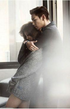 TOP & Yoon Eun Hye for W Korea ♡ #BIGBANG
