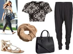 """""""Selena Gomez Inspired Outfit"""" by krisruthie on Polyvore"""
