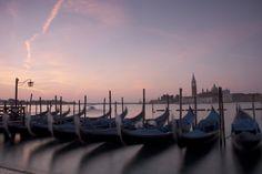 gondolas and sky Venice, Sunrise, Boat, Sky, Explore, Italia, Heaven, Dinghy, Venice Italy
