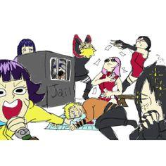 """Hahahaha I love this edit hahahaha I'm going to die  - #sasusaku #naruhina - [Credits to the artist]"""