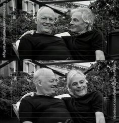 Rick Wright and David Gilmour best of friends. saw them with Floyd.