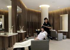 2nd treatment area Beauty Salon Interior, Surabaya, Clinic, Salons, Curtains, Home Decor, Salon Interior, Lounges, Blinds