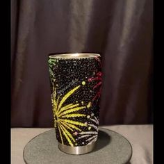 Custom strass/bling and cerakote paint services by Fleminggunworks What Is Glass, Tumblr Cup, Custom Starbucks Cup, Crystal Shoes, Tumbler Designs, And Just Like That, Diy Bottle, Personalized Cups, Diamond Art