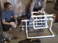 PVC Pipe Skein Winder- what an amazing idea!
