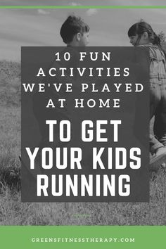 If you are looking for some fun activities you can play with your kids, this article looks at my favourite games to get you and your kids up and running around. Kids Running, Running Tips, Up And Running, How To Start Running, How To Run Faster, Physical Activities, Fun Activities, Capture The Flag, Break A Sweat