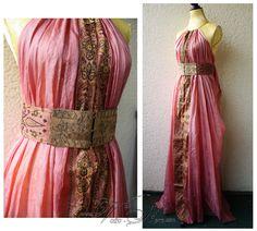 Shae Handmaiden Gown Kingslanding prostitute Costume Dress Ros