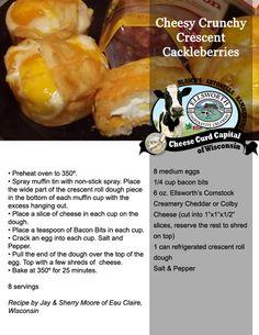 Cheesy Crunchy Crescent Cackleberries