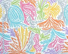 91ffddde5e4870 Braemore Bequia Linen Blend Punch from  fabricdotcom Screen-printed on a  linen rayon