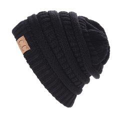 CC Oversized Thick Cap Unisex Slouch Beanie Hat